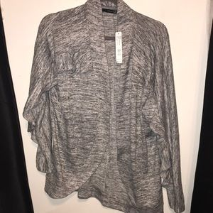 August Silk cardigan NWT